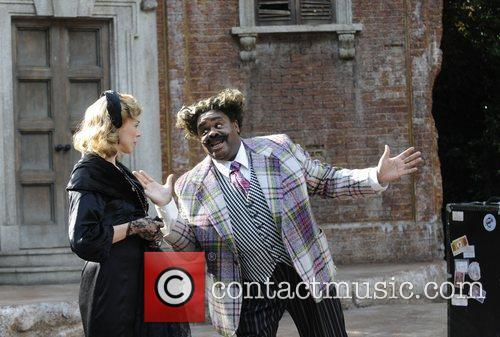 Janie Dee and Clive Rowe 'Twelfth Night' photocall...