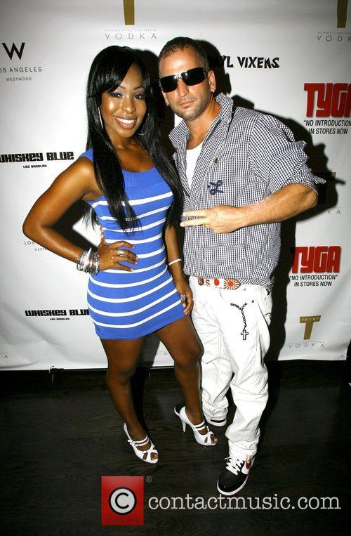 Porscha Lee Coleman and guest The launch party...