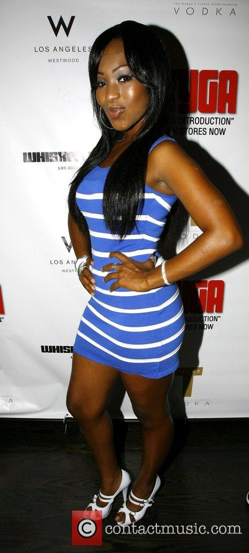 Porscha Lee Coleman The launch party for Tyga's...