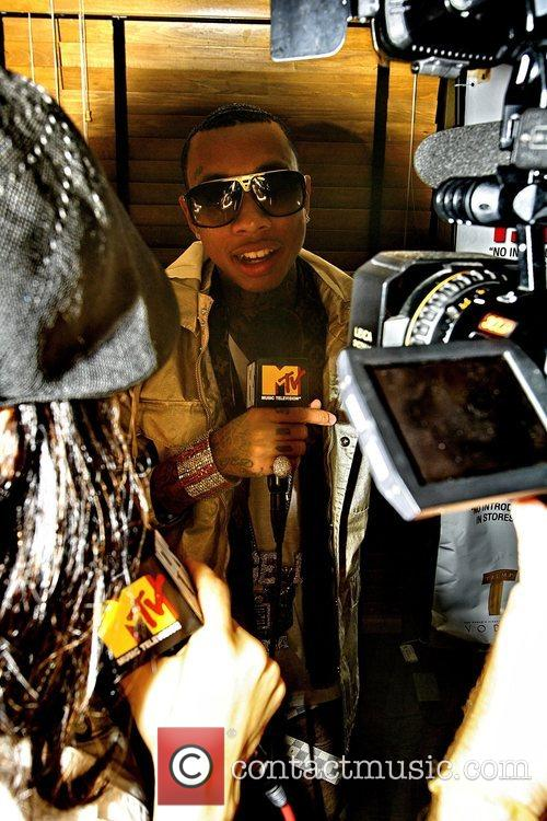 Tyga The launch party for Tyga's 'No Introduction'...