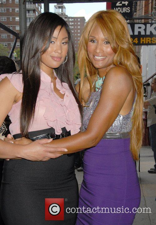 Model and Beverly Johnson 'The Tyra Banks Show'...