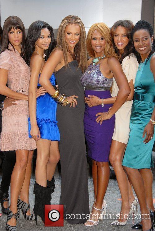 Veronica Webb, Chanel Iman, Tyra Banks, Beverly Johnson,...