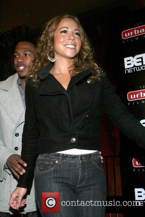 Nick Cannon and Mariah Carey  12th Annual...