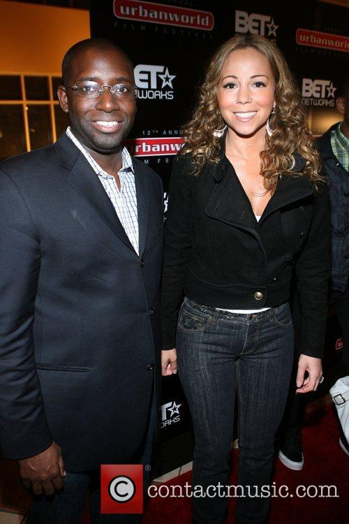 Stacy Spikes and Mariah Carey  12th Annual...
