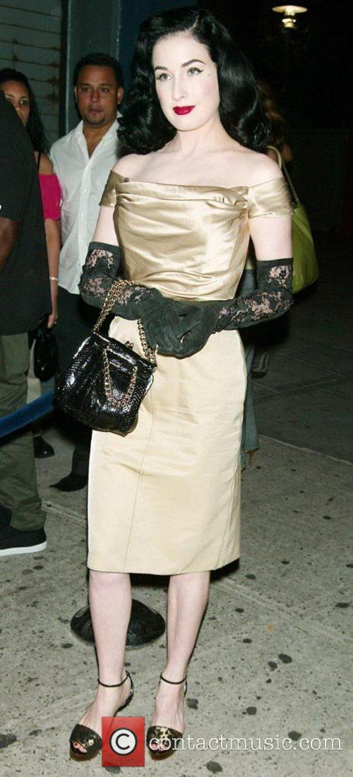 Dita Von Teese - 'Ugly Betty' New York Premiere Party held at ...