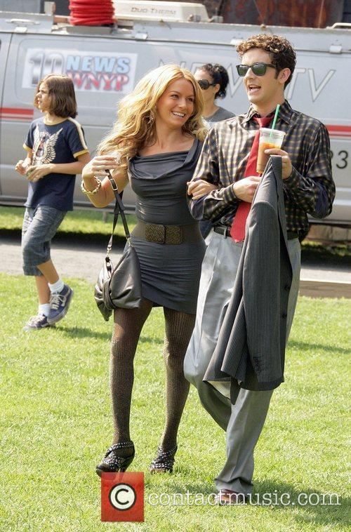 Becki Newton and Michael Urie 7