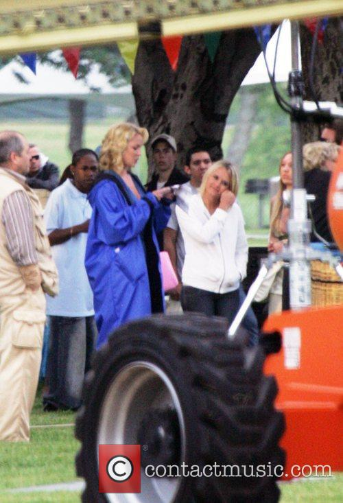 Katherine Heigl on the set of her upcoming...