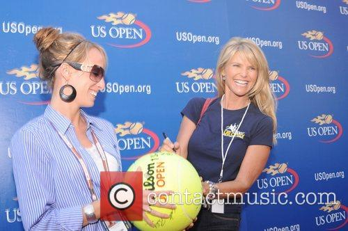 Christie Brinkley 2008 US Open - Day 14...
