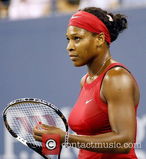 Serena Williams 2008 US Tennis Open - Day...