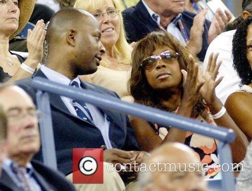 Guest and Star Jones 2008 US Open -...