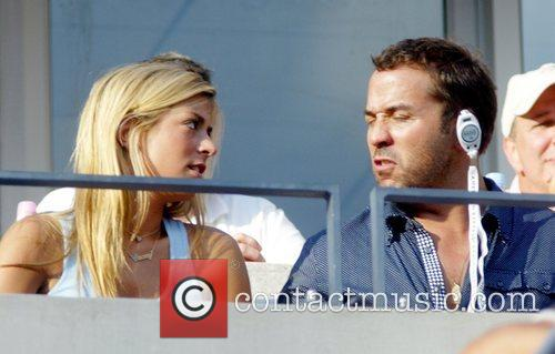 Guest and Jeremy Piven 2008 US Open -...