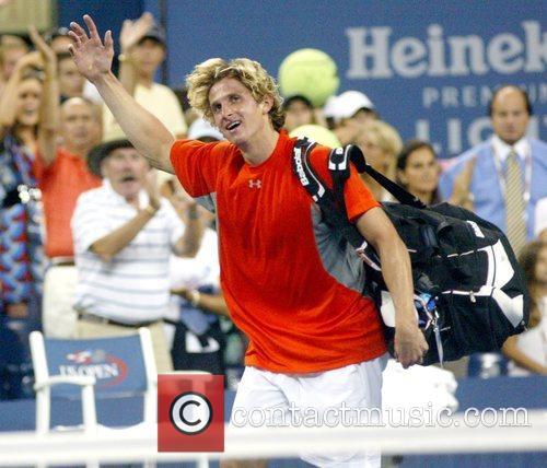 Igor Andreev 2008 US Open - Day 9...