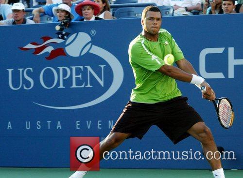 Jo-Wilfried Tsonga 2008 US Tennis Open - Day...