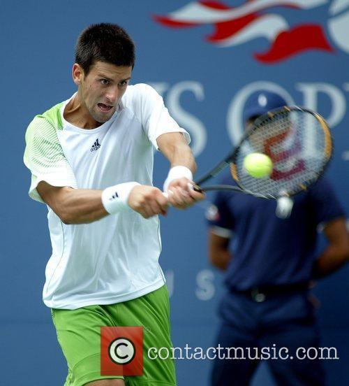 Novak Djokovic 2008 US Open - Day 13...