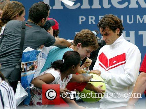 Roger Federer 2008 US Open - Day 13...