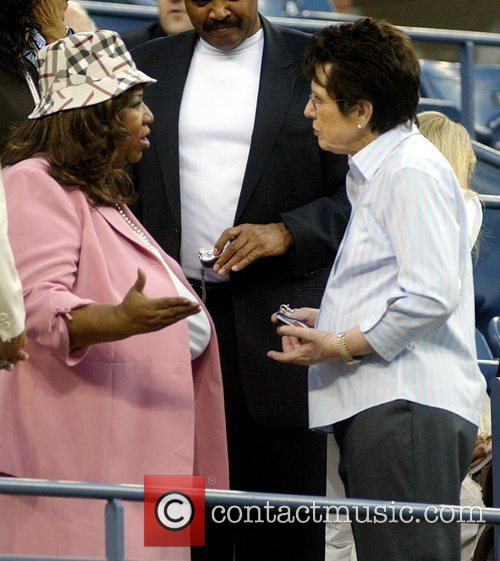 Aretha Franklin and Billie Jean King 10