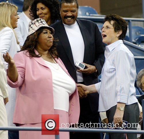 Aretha Franklin and Billie Jean King 8