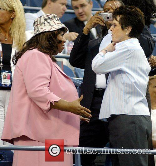 Aretha Franklin and Billie Jean King 6