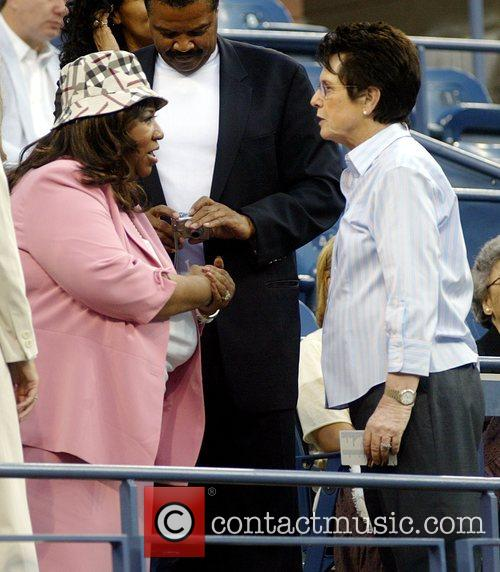 Aretha Franklin and Billie Jean King 7