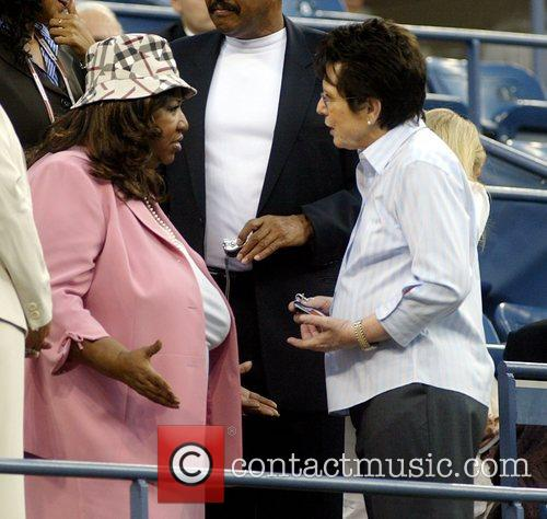 Aretha Franklin and Billie Jean King 11