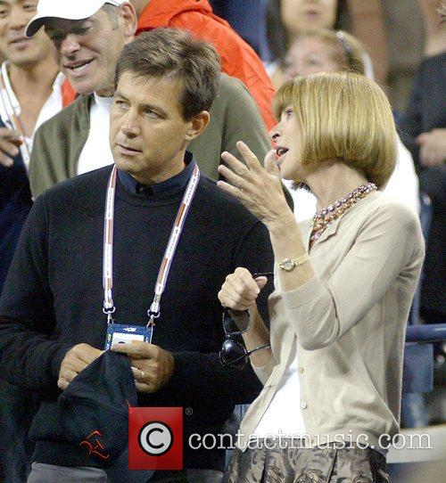 Anna Wintour US tennis open - Day 2...