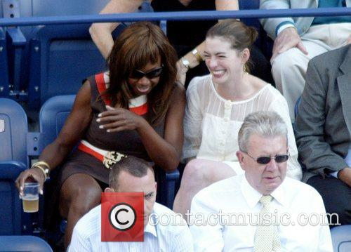 Star Jones Reynolds and Anne Hathaway 1