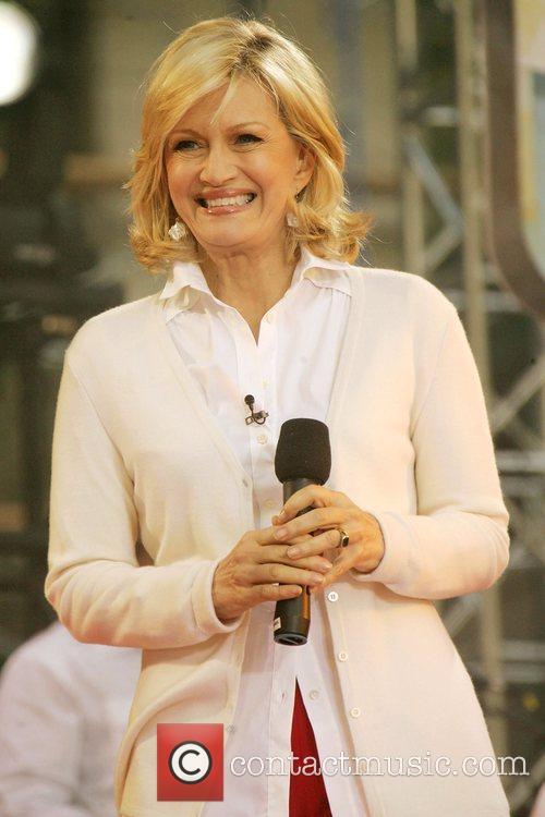Diane Sawyer Usher performs on ABC's 'Good Morning...