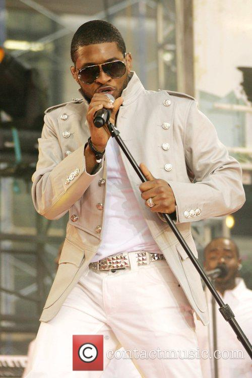Usher performs on ABC's 'Good Morning America Summer...