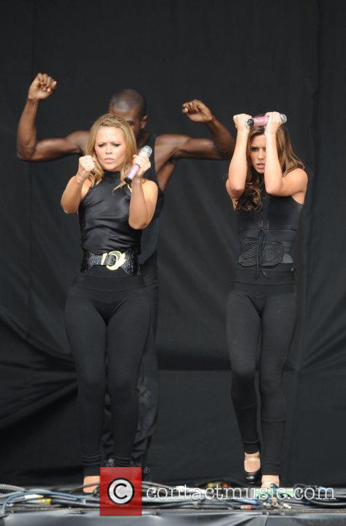 Kimberley Walsh and Cheryl Cole 2