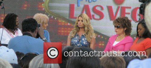 Jessica Simpson, Barbara Walters and Whoopi Goldberg 5