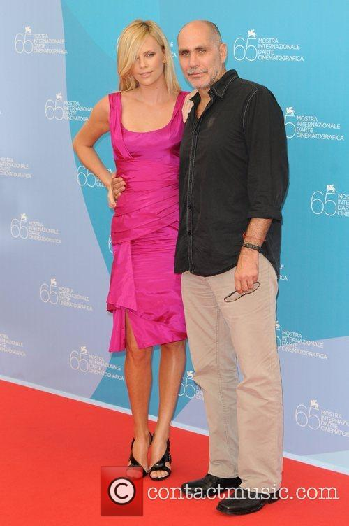 Charlize Theron and Guilelermo Arriga The 2008 Venice...