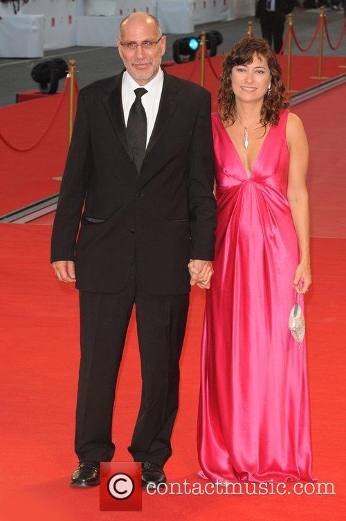 Guillermo Arriaga and wife Eugenia The 2008 Venice...
