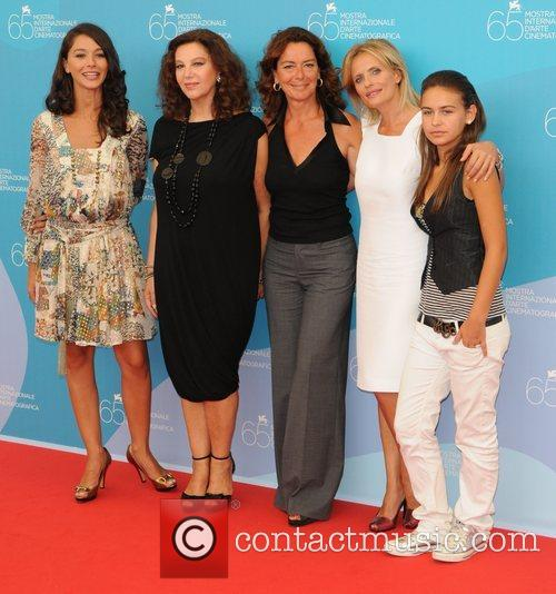 Nicole Grimaudo, Stefania Sandrelli, Monica Guerritore, and Isabella...