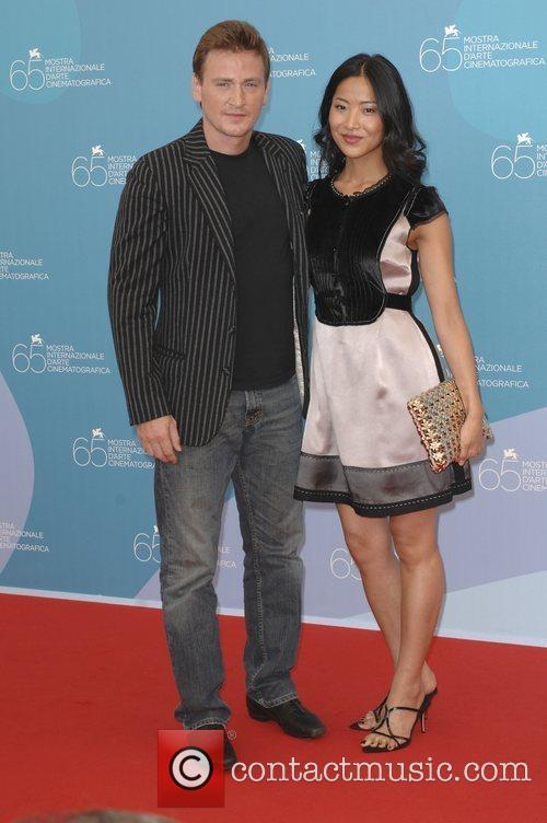 Benoit Magimel and Lika Minamoto The 2008 Venice...
