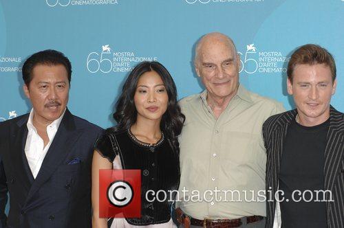 Ryo Ishibashi, Lika Minamoto, director Barbet Schroeder and...