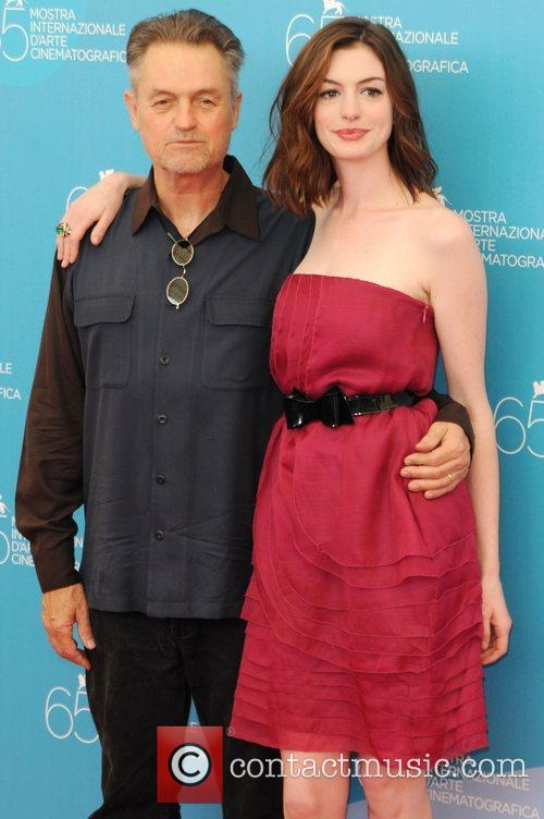 Jonathan Demme and Anne Hathaway 2