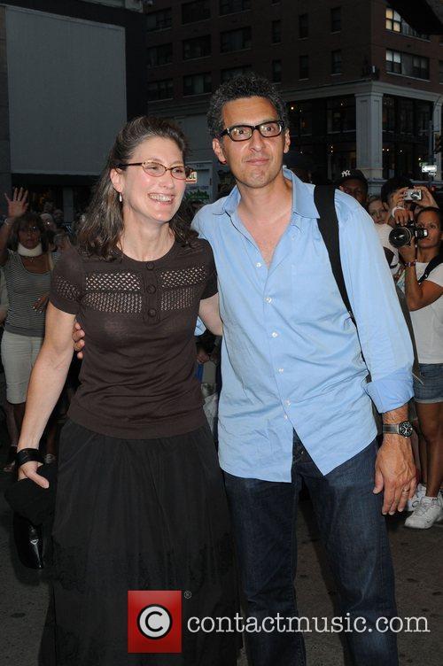 John Turturro and guest New York Premiere of...