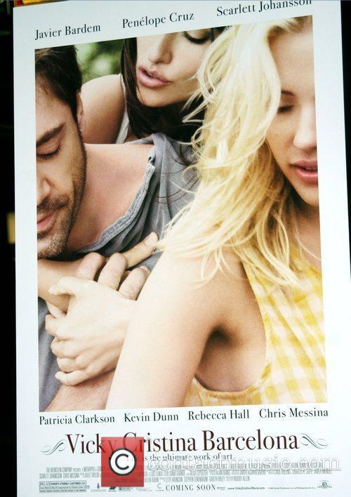 Movie Poster New York Premiere of 'Vicky Cristina...