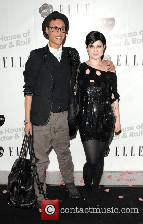 Gok Wan and Kelly Osbourne Private viewing of...