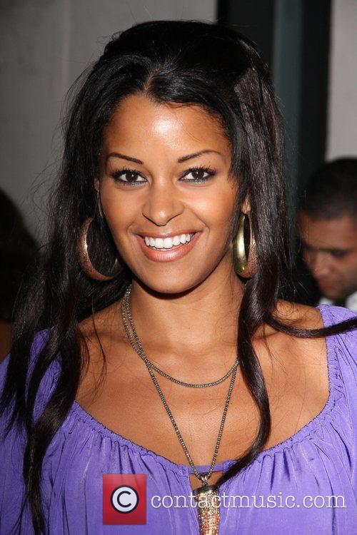 Claudia Jordan  outside Villa Lounge after being...