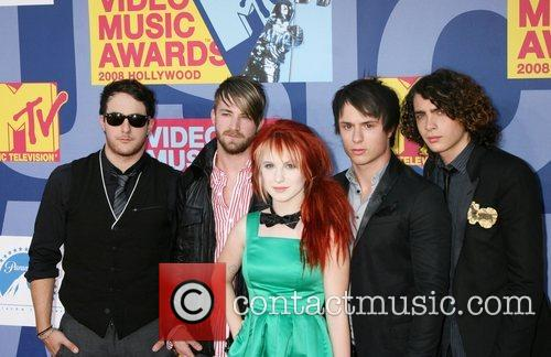 Paramore 2008 MTV Video Music Awards - Arrivals...