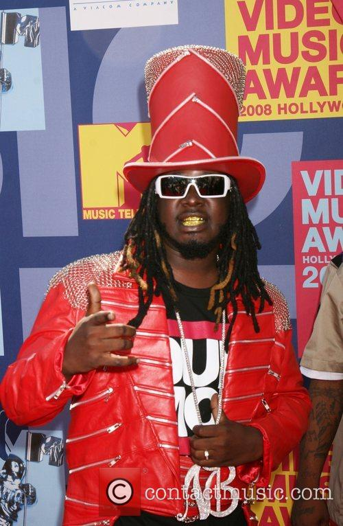 T-Pain 2008 MTV Video Music Awards - Arrivals...