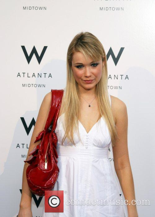 Actress Katrina Bowden Grand Opening of W Hotel...