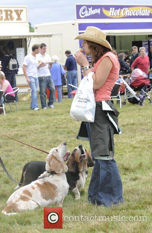 Wag and bone dog show held at windsor...