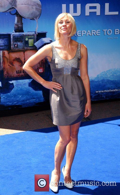 Jenni Falconer WALL.E premiere held at the Empire...
