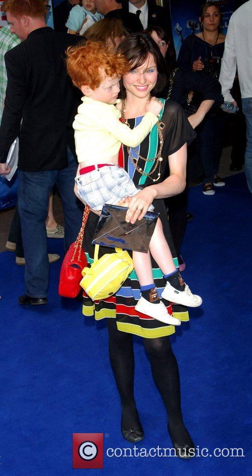 Sophie Ellis Bextor and her son Sonny WALL.E...