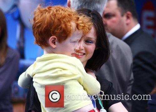Sophie Ellis Bextor and son Sonny WALL.E premiere...