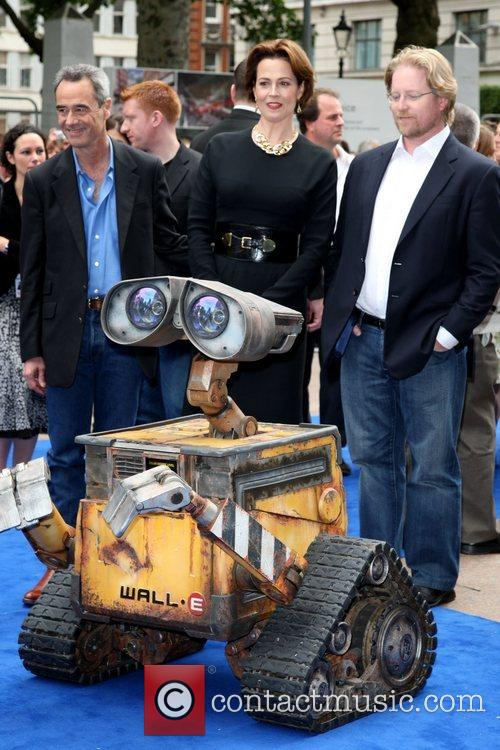 Sigourney Weaver, Jim Morris, Andrew Stanton WALL.E premiere...