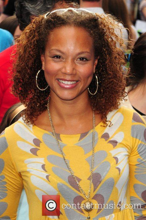 Angela Griffin WALL.E premiere held at the Empire...