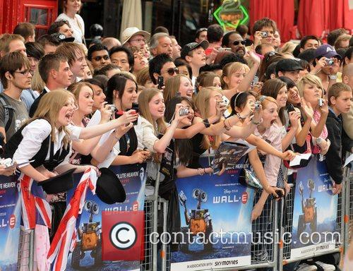 Fans of George Sampson WALL.E premiere held at...